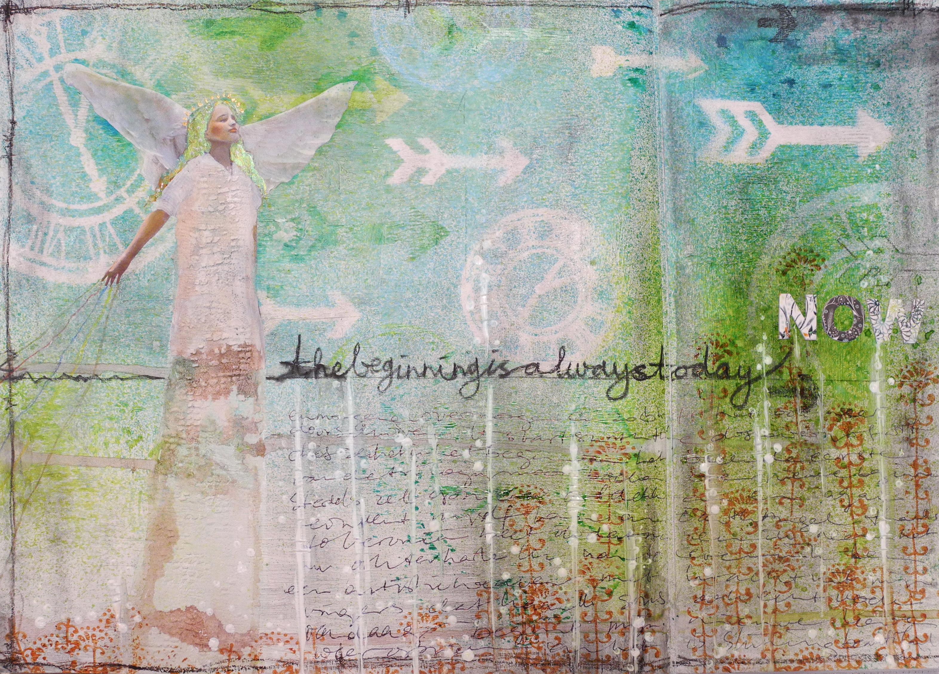 original journal spread by Joyce van der Lely ©