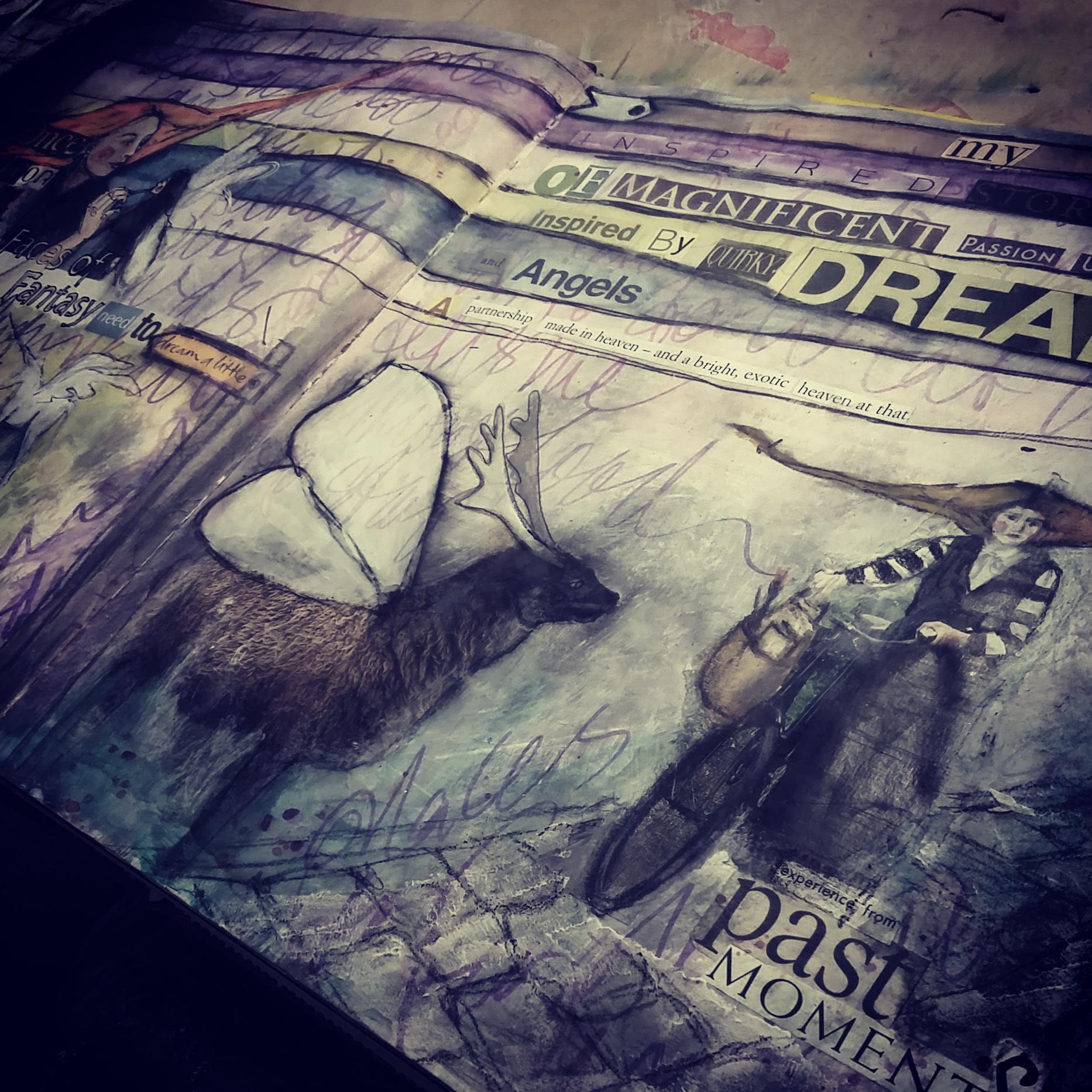 altered journal - joyce van der lely